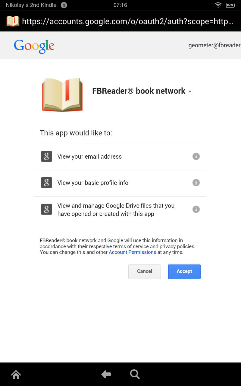 FBReader and the book network: an illustrated guide